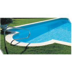 main courante - rampe - sortie - sécurité piscine