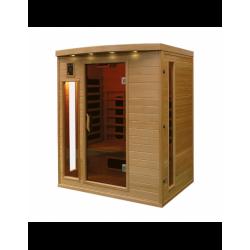 Sauna infrarouge 3 places