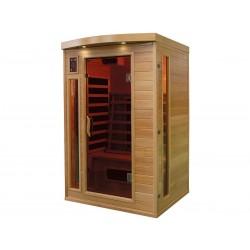Sauna infrarouge 2 places