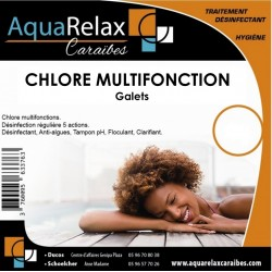 Chlore multifonction - galets