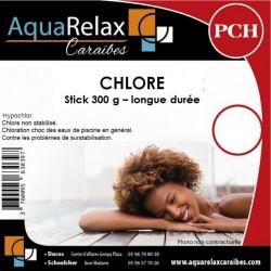 Chlore STICK hypochlorite de calcium 300g, 10.20kg
